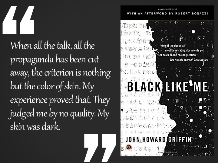 Black LIke Me Quote