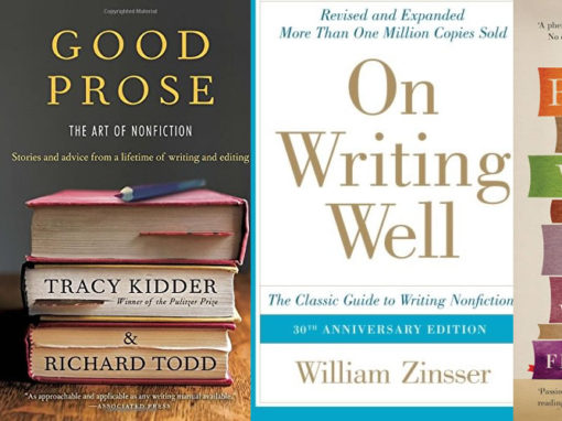 5 Books about Writing You Need To Read