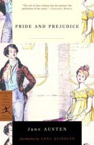 pride and prejudice opening sentence