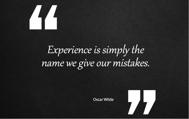 Experience Quotes from Oscar Wilde