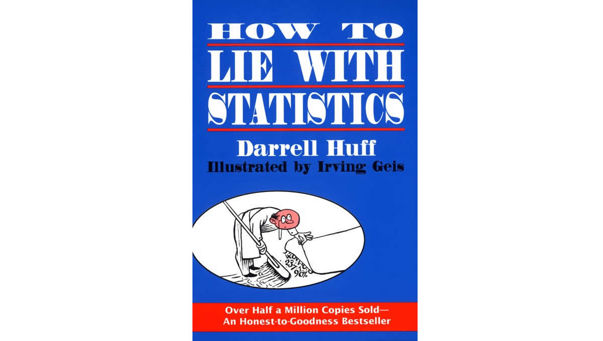 Quotes from how to lie with statistics by Darrell Huff
