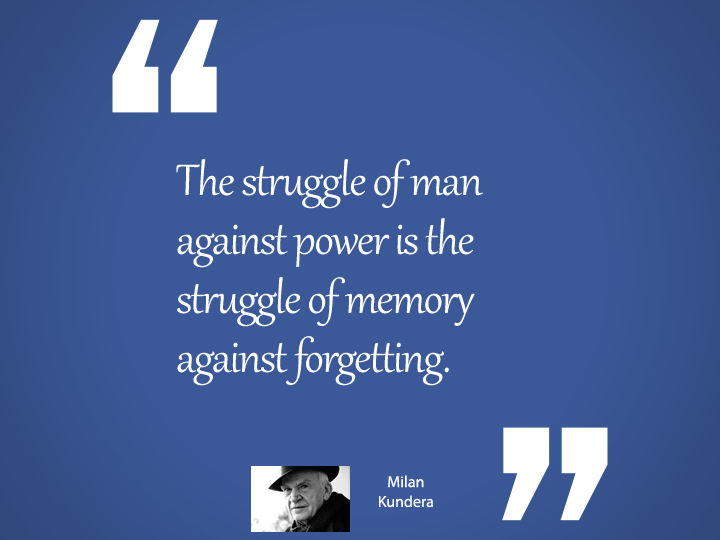 The struggle of man against power