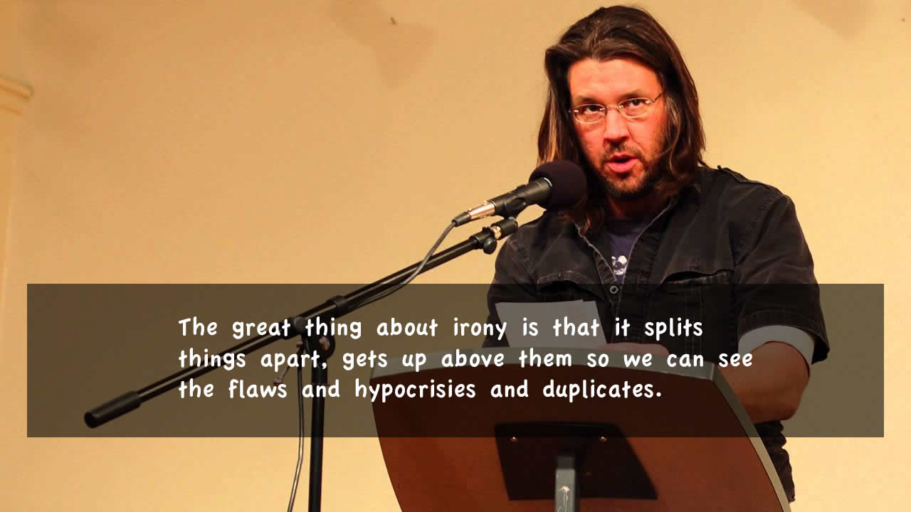 David Foster Wallace Memorable Quotes - Inspiring Alley