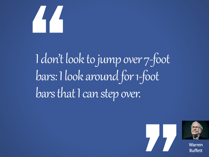 I don't look to jump over 7-foot bars