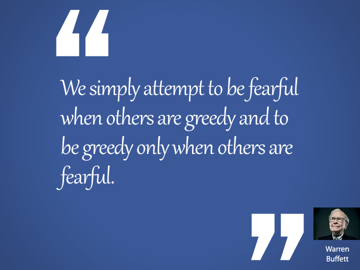 We simply attempt to be fearful